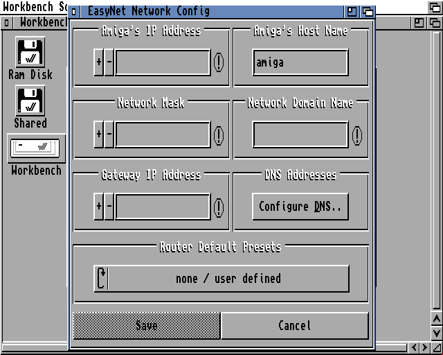 EasyNet Install Screenshot