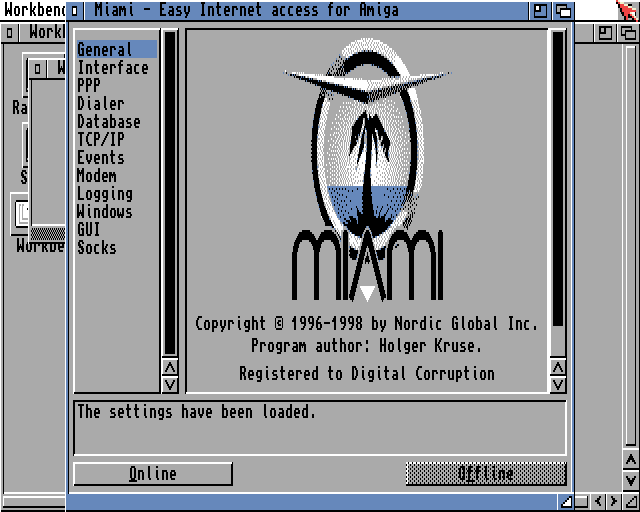 Miami Install Screenshot